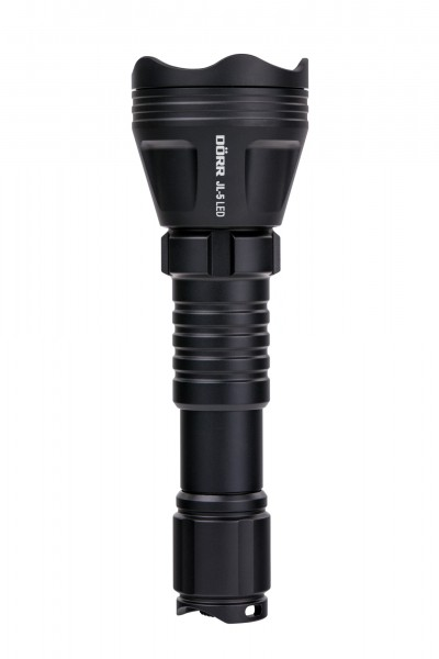 Taschenlampe JL5 inkl. Koffer, Klammer, wechselbaren LED's Set / Zoom