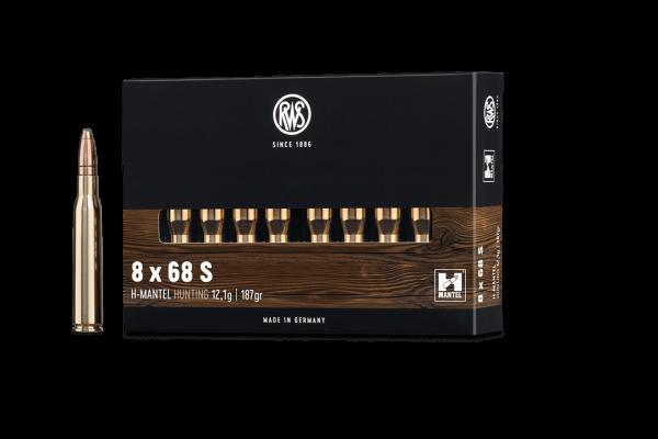 8x68S HMK 12,1g - 187gr.