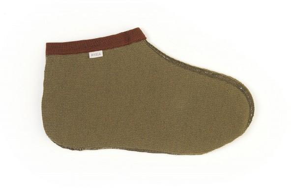 Aigle Stiefelsocke Aigloo Grün - Die Aigloo Stiefelsocke von Aigle ist die ideale Wahl, um die Füße während der Revierarbeiten bei kaltem Wetter angenehm warm zu halten.