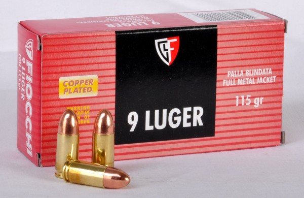 9mmLuger Vollmantel 8,0g -123gr.