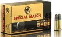 .22lr Spezial Match 2,6g - 40gr.