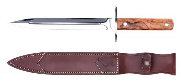 Jagdmesser Dagger Olive Wood Klinge 23cm - Abfangmesser