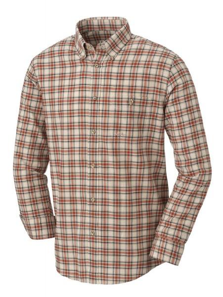 Blaser Hemd Soft Flanell Camel-braun - Das karierte Langarmhemd Soft Flanell von Blaser ist klassisch geschnitten und ausgestattet mit einem Button-down-Kragen