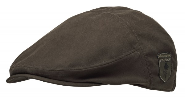 Pinewood Cap Sixpence Suede Brown