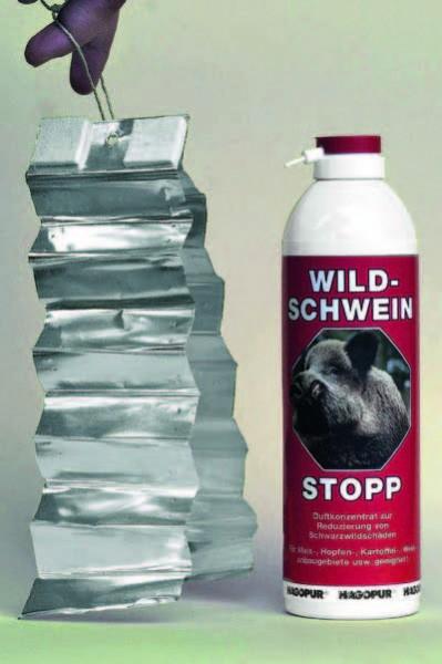 Hagopur Wildschweinstopp 400ml rot