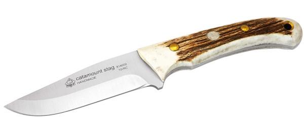 Jagdmesser Catamount Stag mit Lederscheide - Klingenlänge: 9,9cm