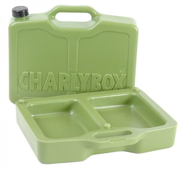 Charly-Box grün - für Hundeversorgung