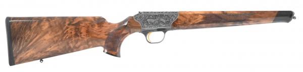 System R8 Baronesse SHK:8 Gravur: Reh und Schwarzwild / Pistolengriffkappe: Rothirsch