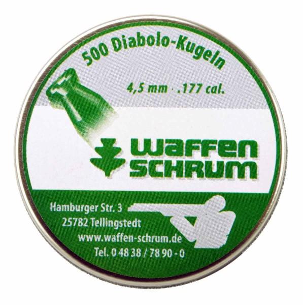 4,49mm glatt SCHRUM Hausmarke