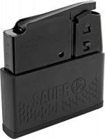 Sauer Magazin S303 matt schwarz - Gummiarmierung