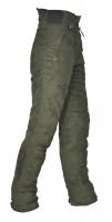 Hubertus Hose Micro mit Gummibund, Oliv - Die Micro Velours Damenhose ist gut für Revierarbeiten und die Jagd einsetzbar.