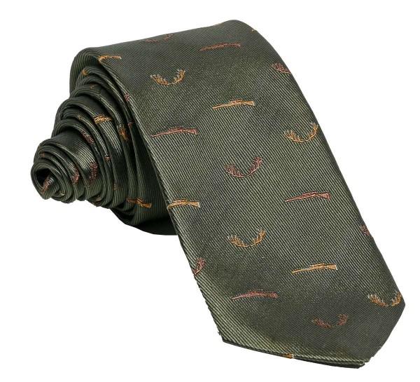 Krawatte Büchse Oliv