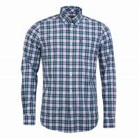 Barbour Hemd Highland Cheek Green - Das modisch-karierte Langarmhemd Highland Cheek von Barbour ist regular geschnitten und durch den Materialmix angenehm...