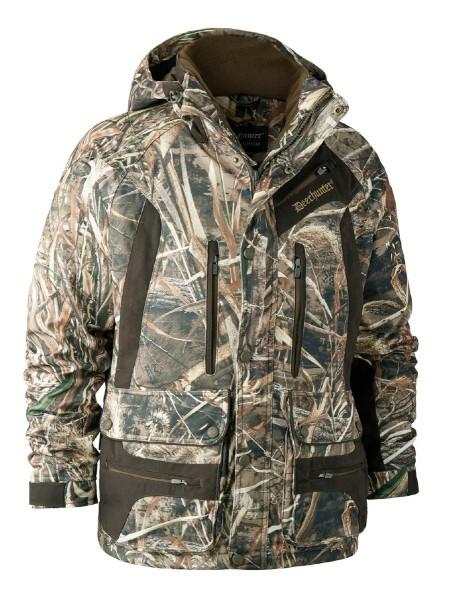 Deerhunter Jacke Muflon kurz mit Realtree MAX-5 Camouflage - sportlich und elegant mit abnehmbarer Kapuze