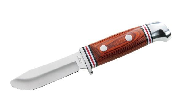 Jagdmesser abgerundet Klingenlänge 8cm - Kindermesser