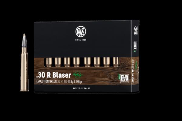 .30RBlaser Evo Green 9,0g - 139gr.