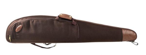 Büchsenfutteral GEIR Loden Mit Außentasche und Fleecepolsterung 130cm - Braun