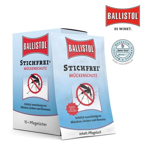 Mückenschutz 10er Pck. - Tücher Stichfrei