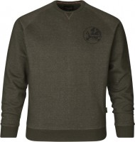 Seeland Sweatshirt Key-Point Pine green melange