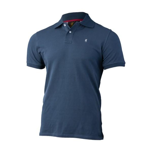 Browning Poloshirt Ultra 78 Blue blau