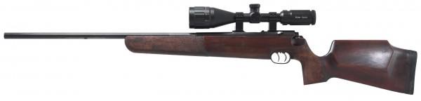 Match KJS , ZF Ritter 3-12x50 Abs. 4 LP, ASV Höhe, Aufschubmontage .22 Hornet