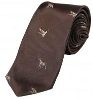 Foresta Krawatte Hund/Ente Braun