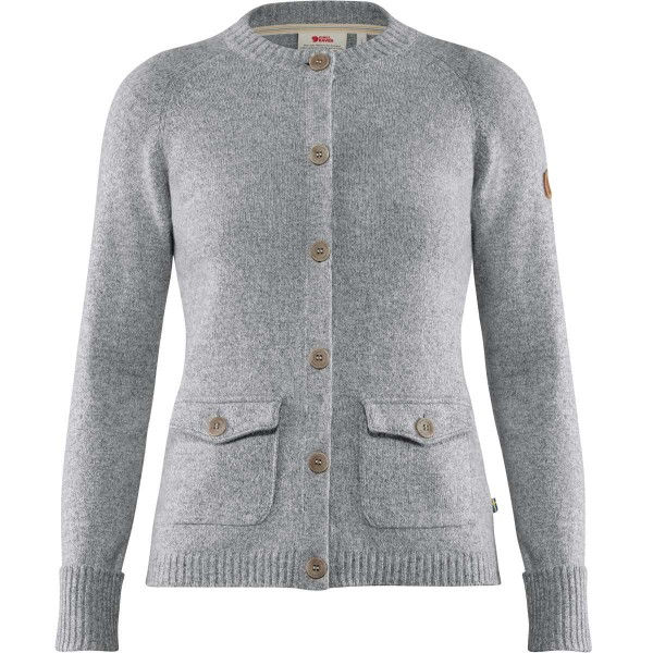 Fjällräven Cardigan Greenland Re-Wool Grey