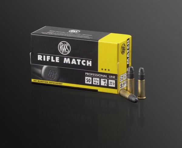 .22lr Rifle Match 2,6g - 40gr.