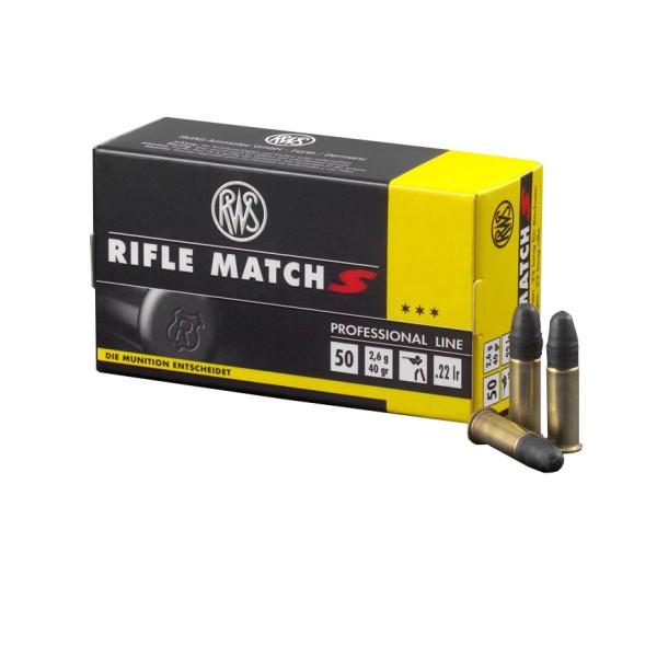 .22lr Rifle Match S 2,6g - 40gr.
