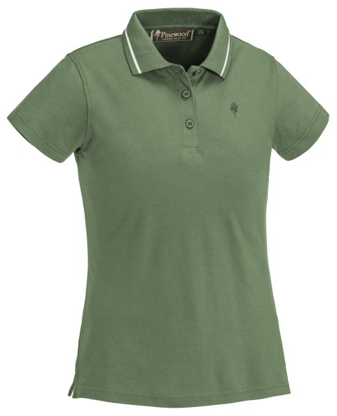 Pinewood Poloshirt Outdoor Life Midgreen