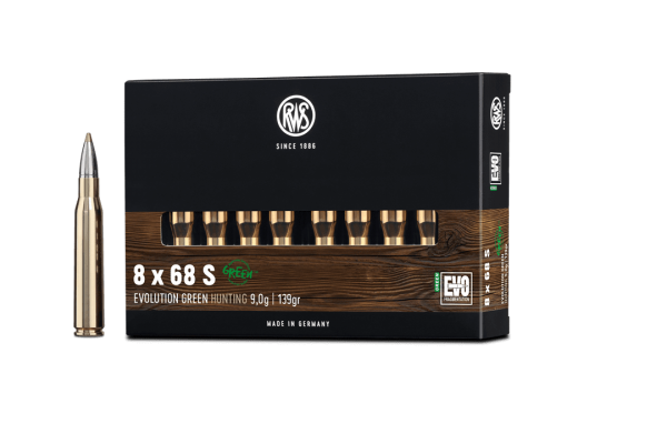 8x68S Evo Green 9,0g - 139gr.