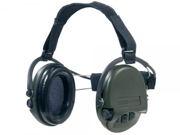 Gehörschutz Supreme Pro X Neck grün - mit Nackenband Digital