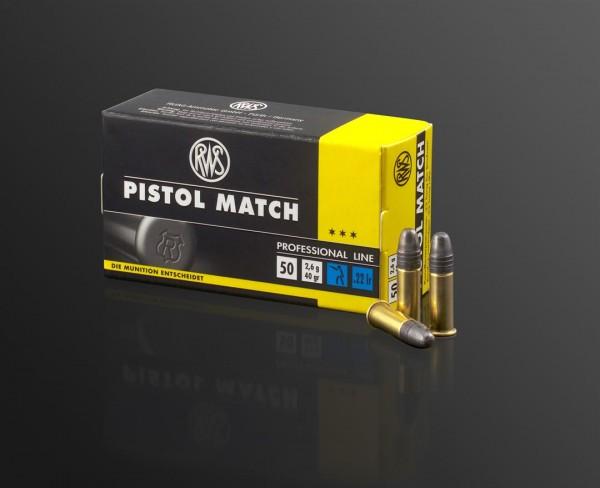 .22lr Pistol Match 2,6g - 40gr.
