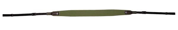 Fernglasriemen Neopren - oliv/grün