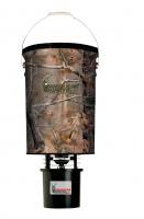 Futterstreuer Metall camouflag ca. 25kg Futter