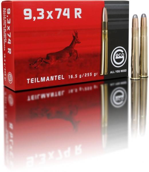 9,3x74R Teilmantel 16,5g - 255gr.
