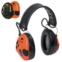 Gehörschutz Sport Tac grün - Wechselschale in orange Analog
