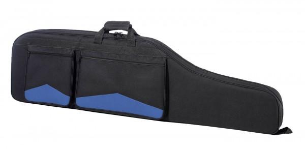 Büchsenfutteral Für Sportschützen 121cm - Schwarz/Blau