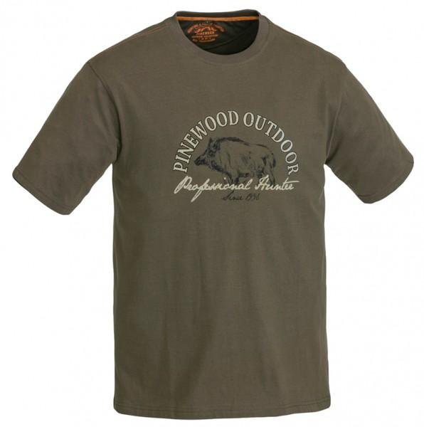 Pinewood T-Shirt Wild Boar Kids. Komfortabel und weich. 100% Baumwolle.