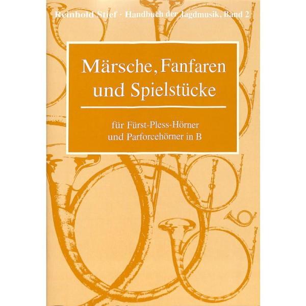Märsche, Fanfaren, Band 2 für Fürst-Pless-Hörner
