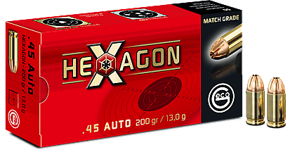 .45Auto Hexagon 13,0g - 201gr