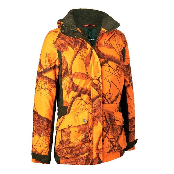 Deerhunter Jacke Estelle Winter Realtree Edge Orange