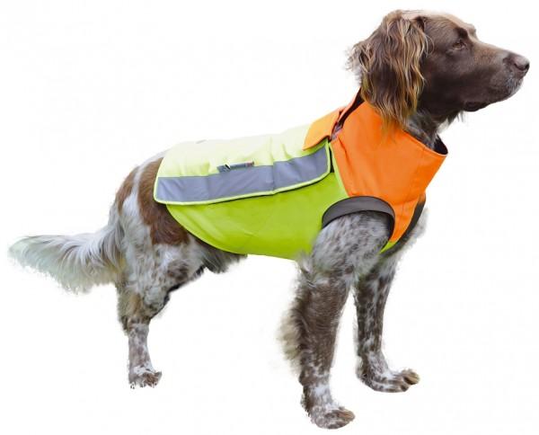 Hundeschutzweste Kevlar Orange